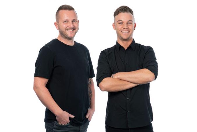 Tom und Dustin, Team Produktion